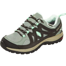 Salomon Ellipse 2 GTX Shoes Women light tt/asphalt/jade green